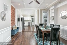 rowhouse dining room