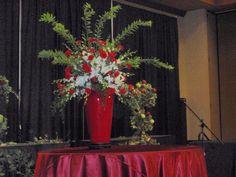 SRFA Main Stage Flower Arrangement