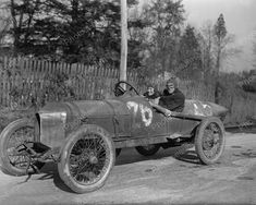 Race Car1915 Vintage 8x10 Reprint Of Old Photo