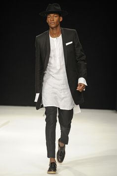Spencer Hart Men's RTW Spring 2014 - Slideshow I just like this look!  The right guy, the right gait makes for a good look! (pant length longer, of course).