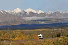 Breathtaking Yukon scenery lies around each bend