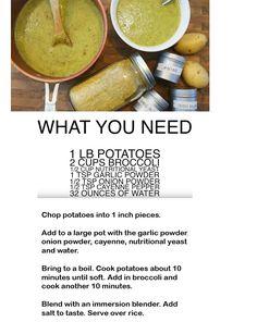 Cheddar Broccoli Soup - High Carb Hannah Recipe