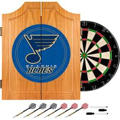 St. Louis Blues dart board