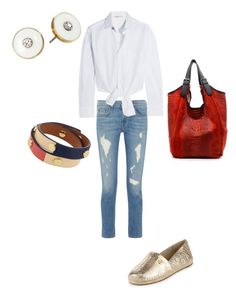 """""""Sin título #224"""" by shary-elivo on Polyvore featuring moda, rag & bone, Maje, MICHAEL Michael Kors, Kate Spade y Tory Burch"""