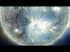 When a solar flare erupted yesterday (Aug 31rd), scattering a billion atomic bombs' worth of energy into space, NASA's Solar Dynamics Observatory was staring at the sun. They recorded this video, which NASA released Friday morning.    The footage shows the flare in three different wavelengths of light. Teal and gold correspond to ultraviolet light, while the blue channel shows only that wavelength.