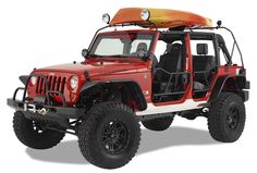 I'd love to own a mega Jeep like this one.