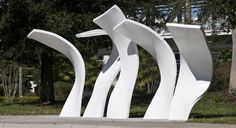 The LYNX Bus Stops/Art Shelters on International Drive in Orlando