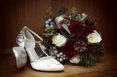 Aoife's gorgeous Wedding Shoes and Bridal Bouquet. Photography by Marriage Multimedia Bouquet Photography, Multimedia, Wedding Shoes, February, Marriage, Bride, Mariage, Wedding Boots, Bridal