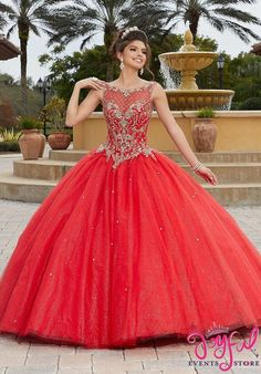 Valencia Quinceanera by Morilee 60096 Rhinestone and Crystal Beaded, Metallic Embroidery on a Tulle Over Sparkle Tulle Ball Gown, Matching Bolero Jacket Tulle Balls, Tulle Ball Gown, Ball Gown Dresses, Prom Dresses, Shift Dresses, Evening Dresses, Sweet 15 Dresses, Sweet Dress, Elegant Dresses