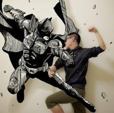 A arte mesclada de Gaikuo-Captain | SKULL FEED