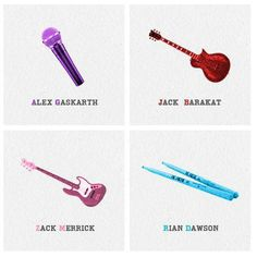 All Time Low<3 Alex Gaskarth <3 Rian Dawson <3 Jack Barakat <3 Zack Merrick <3