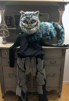 Melissa Nasby's cat puppet/mask