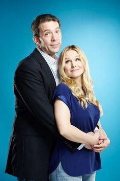 The man and his star. Veronica Mars movie yay!