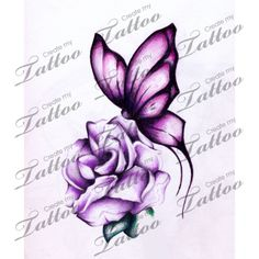 Marketplace Tattoo Butterfly and Flower - Host your own Custom Tattoo Design Contest! Describe your Tattoo Design Idea and get unique Custom Tattoo Designs . Mermaid Tattoos, Feather Tattoos, Foot Tattoos, Flower Tattoos, Body Art Tattoos, Small Tattoos, Sleeve Tattoos, Trendy Tattoos, Cute Tattoos
