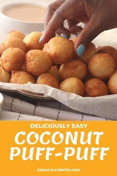 Fun Baking Recipes, Sweet Recipes, Dessert Recipes, Cooking Recipes, Cooking Videos Tasty, Comida Latina, Caribbean Recipes, Fried Dough Balls Recipe, Fried Dough Recipes