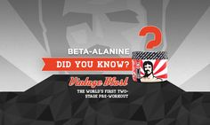 A study found that beta-alanine (at 4 g daily) helped competitive wrestlers from Adams State College cut body fat while adding muscle. The wrestlers also improved athletic performance in this eight-week study.   Beta-alanine is also found in Vintage Blast, the World's First Two-Stage Pre-workout. Have you tried it? www.OldSchoolLabs.com/Vintage-Blast?utm_content=buffer7cb81&utm_medium=social&utm_source=pinterest.com&utm_campaign=buffer  Keep it Old School!
