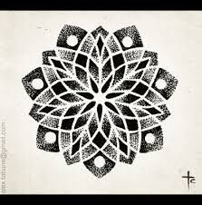 mandala tattoo flash - Google Search