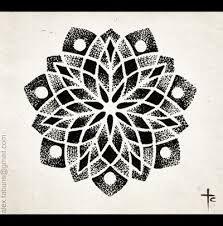 mandala tattoo flash - Google Search