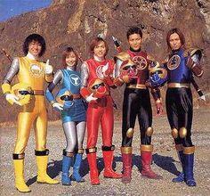 Power Rangers Ninja Storm, Go Go Power Rangers, Power Rengers, Go Busters, Robot Cartoon, Sci Fi Tv Shows, Rpg Horror Games, Live Action Film, Fantasy Movies