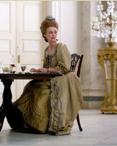 The Duchess (2008) by Saul Dibb with Keira Knightley as Georgiana, Duchess of Devonshire. #CostumeDesign: Michael O'Connor.
