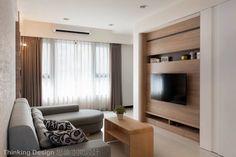 INTERIOR | 24평의 수납공간이 많은 평온한 아파트 인테리어 :: FabD(팹디)