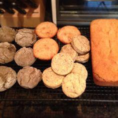 Flax Meal Biscuits, gluten-free, vegan