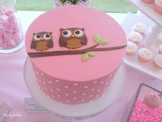 Owl Cake / Eulenkuchen - My WordPress Website Fondant Owl, Fondant Cakes, Cupcake Cakes, Fruit Cakes, Ladybug Cakes, Owl Cakes, Christmas Cake Designs, Christmas Cake Topper, Owl Cake Birthday