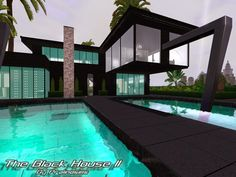 The Black House by Pralinesims  http://www.thesimsresource.com/downloads/1183676