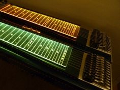 Illuminated Fretboards for Pedal Steel Guitar. Great for gigging and bedroom serenading!
