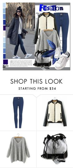 """""""SheIn #5 (IV)"""" by cherry-bh ❤ liked on Polyvore featuring moda, Balmain, Carianne Moore e shein"""