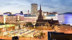 Birmingham and the region is bursting with bustling markets brimming with character and fresh food choices. Birmingham Bull Ring, Birmingham Uk, Train Tickets, Modern City, West Midlands, World Famous, Live Events, Places To Eat, San Francisco Skyline