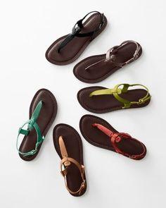5dcfe08fc Ilaria Italian Leather T-Strap Sandals T Strap Sandals