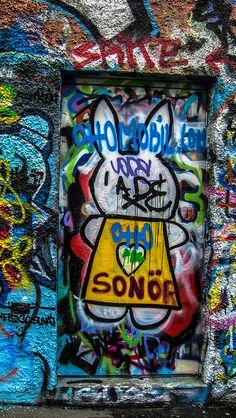 Street Art And Graffiti - Windmill Lane