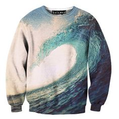 Wave Sweater Unisex, $59, now featured on Fab.