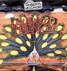 Roberto Vecchioni - Hollywood Hollywood (Vinyl, LP, Album) Copertina di Andrea Pazienza