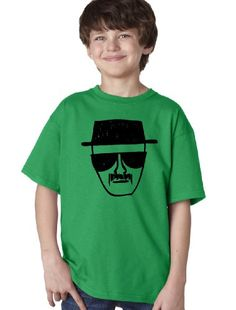A graphic tee featuring a print of the notorious Heisenberg across the chest. Youth Unisex T-shirt. All of our shirts are high quality, pre-shrunk cotton except Sport Gray / Athletic Heather, which is polyester. Breaking Bad Shirt, Cool Shirts, Tee Shirts, Heisenberg, Fashion Beauty, Graphic Tees, Youth, Athletic, Unisex
