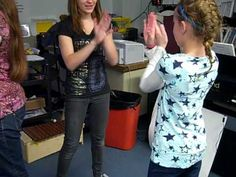 Creating an 8 beat hand clapping pattern - YouTube >>> Allow kids time to create and rehearse their sequence in groups. Then, present to their classmates. FUN !