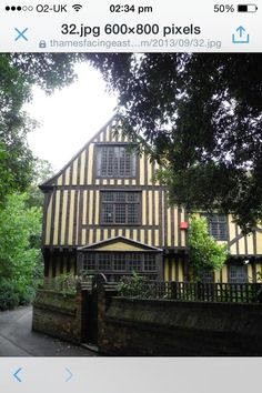 Tudor Houses next to Eltham Palace