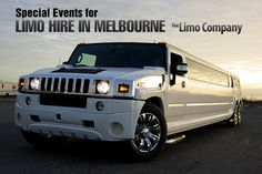 Special Events for Limo Hire in Melbourne - •	Concerts, •	Sporting Events like Tennis, Soccer, AFL, NRL, Cricket, •	Portsea Polo •	Spring Racing Carnival & Melbourne Cup •	Music Festivals •	Valentine's Day