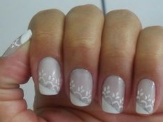 Wedding Lace Nail Designs
