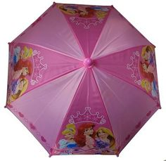 Disney Princess Girls Purple Umbrella 3D Handle >>> You can get more details by clicking on the image.