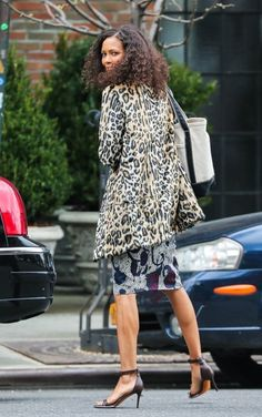 Thandie Newton Photos: Thandie Newton Out and About in NYC