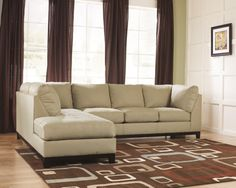 Great Nebraska Furniture Mart U2013 Ashley Fusion Contemporary Sectional Sofa With  Left Chaise