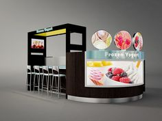 meter coffee kiosk, cafe station design with led lights and coffee makers for sale Kiosk Design, Cafe Design, Booth Design, Retail Design, Store Design, Backdrop Design, Juice Bar Design, Food Cart Design, Mall Kiosk