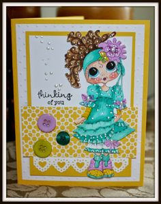 Bestie card by Cheryl Moody