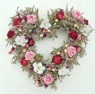 Spring Celebration Heartfelt Wreath 20 in
