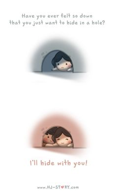 HJ Story - I'll hide with you! See more of HJ-Story at:. Hj Story, Cute Love Stories, Love Story, Anime Chibi, Chibi Cat, Ah O Amor, Cute Love Cartoons, Anime Lindo, Love Facts
