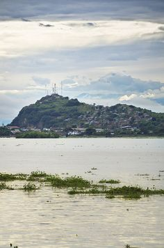 Vista del Chimborazo desde Guayaquil