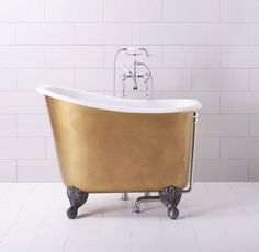 Albion's free standing & roll top baths are constructed from our Iso-Enamel, therefore they cannot be compared to cast iron or any other free standing bath. Mini Bathtub, Bathtub Shower Combo, Small Bathtub, Small Bathrooms, Deep Bathtub, Luxury Bathrooms, Contemporary Bathrooms, Square Bathtub, Deep Tub