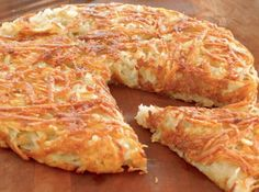 I'm pinning while waiting for my dinner to cook. There will be a mad flurry of potato recipes. So hungry. Read Recipe by sixbird A Food, Good Food, Food And Drink, Yummy Food, Swiss Recipes, Potato Recipes, Potato Rosti Recipe, Side Dishes, Cooking Recipes